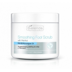 Bielenda Wygładzający peeling do stóp z mentolem 600g Foot Program