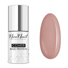 NEONAIL COVER BASE PROTEIN CREAM BEIGE BAZA DO LAKIERU HYBRYDOWEGO 7,2ml