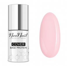 NEONAIL COVER BASE PROTEIN NUDE ROSE BAZA DO LAKIERU HYBRYDOWEGO 7,2ml