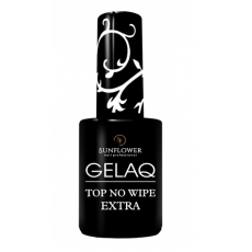 SUN FLOWER GELAQ TOP NO WIPE EXTRA 9ml