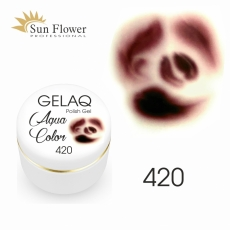 SUN FLOWER AQUA COLOR GELAQ 420 BRĄZ 3g