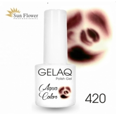 SUN FLOWER AQUA COLOR GELAQ 420 BRĄZ 6g