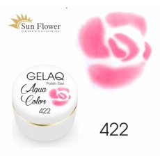 SUN FLOWER AQUA COLOR GELAQ 422 RÓŻ 3g