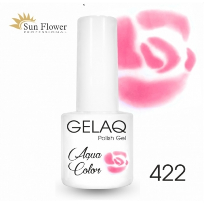 SUN FLOWER AQUA COLOR GELAQ 422 RÓŻ 6g