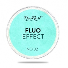 NEONAIL PUDER FLUO EFFECT 02 BLUE - GREEN 3g