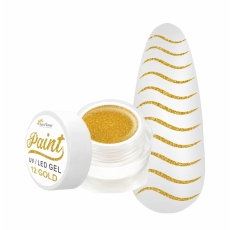 SUN FLOWER PAINT GEL 12 GOLD 3g