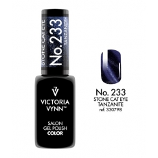 VICTORIA VYNN LAKIER HYBRYDOWY STONE CAT EYE 233 Tanzanite 8ml