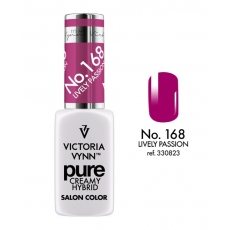 VICTORIA VYNN LAKIER HYBRYDOWY PURE CREAMY 168 Lively Passion 8ml