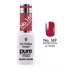 VICTORIA VYNN LAKIER HYBRYDOWY PURE CREAMY 169 Excited Icon 8ml