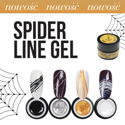 VICTORIA VYNN SPIDER LINE GEL WHITE 5ml